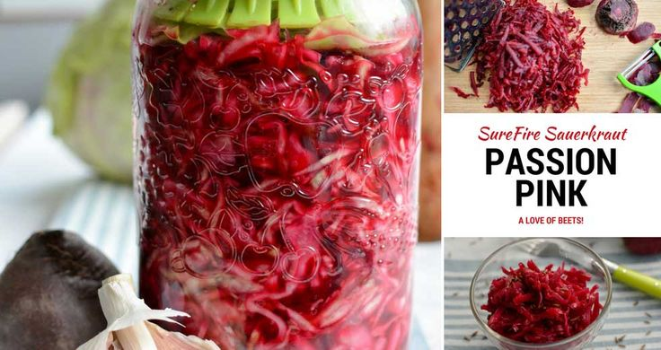 Vibrant red beets. Earthy notes. The fermented beets in this sauerkraut recipe are an amazing source of minerals. PDF Recipe, Gourmet Pairing Options.