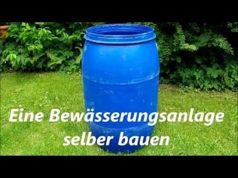 Bewässerungsanlage für Pflanzen selber bauen. Mi…