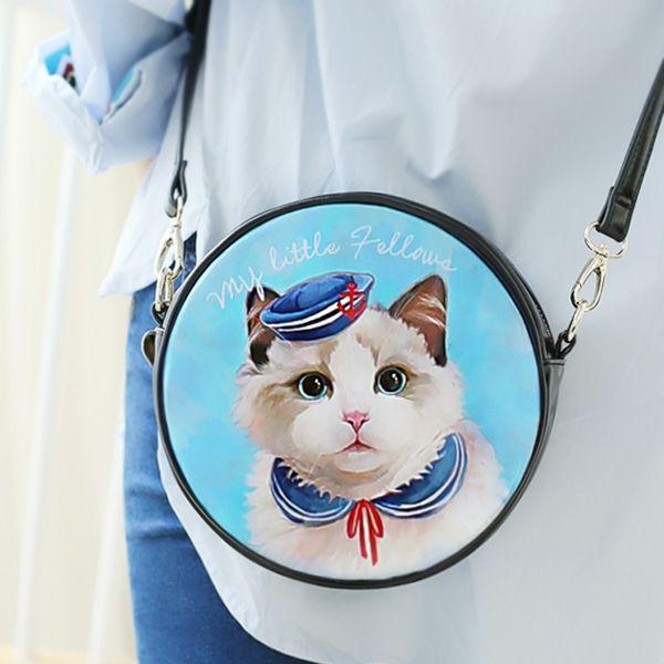 linmeimode original design creative sweet cat round bag  http://www.dhgate.com/product/linmeimode-original-design-creative-sweet/234994000.html