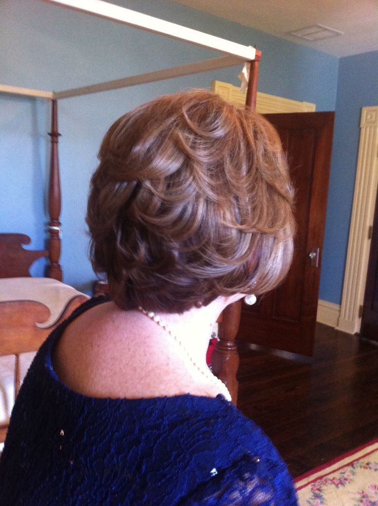 Mother Of The Bride Hair Style Short Allison S
