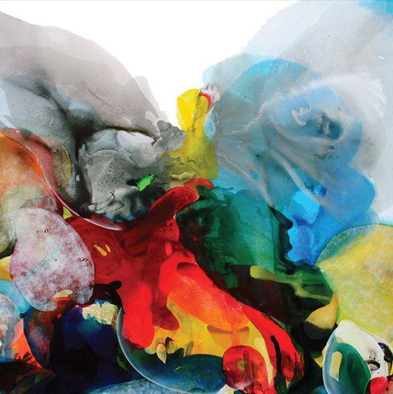 Beautiful painting from Turkish artist Gulten Imamoglu.