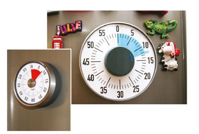 dv770 Timer Visual para aprender la noción de tiempo. Hop'Toys