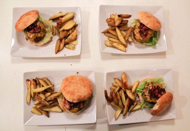 Burgers is always a good idea