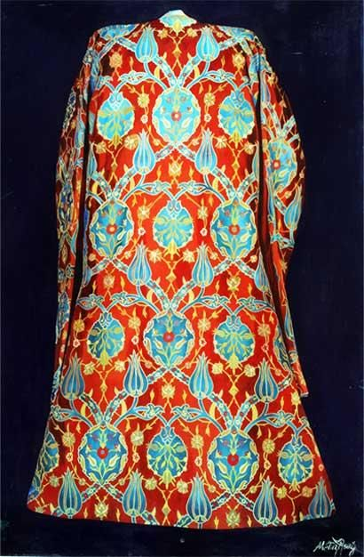 Ottoman caftan from the Topkapi collection. For men, 16th century.