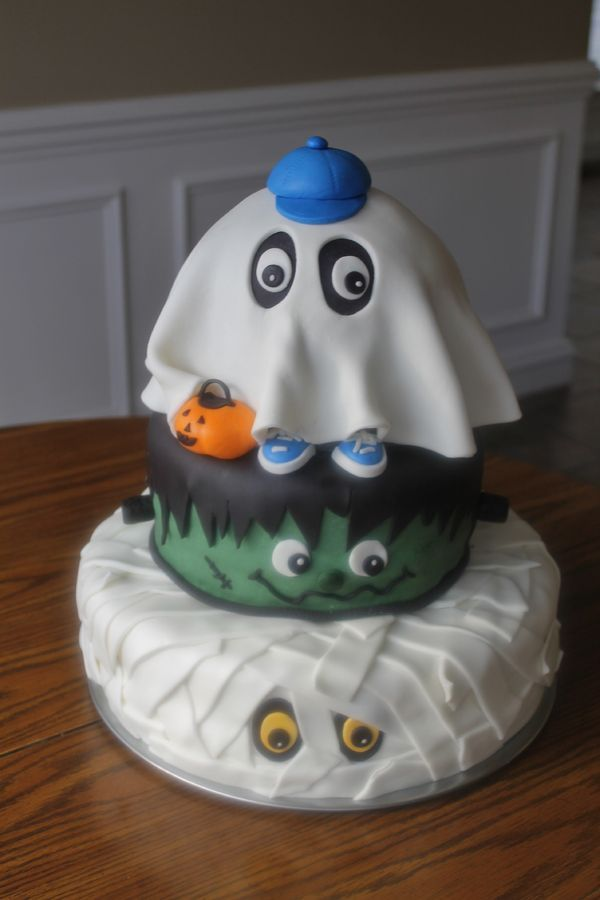 """Guess Who"" Cake Art ~ Halloween ~ all edible"