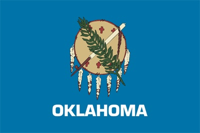 Officially adopted in 1925, the Oklahoma flag honors more than 60 groups of Native American Indians and all of their ancestors
