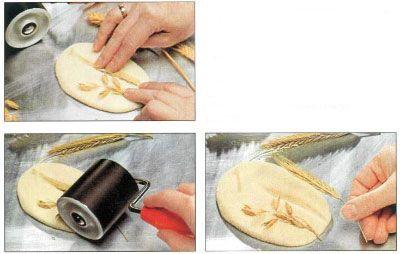 Лепка из солёного теста. Как сделать мельчайшие узорные детали при изготовлении поделок.