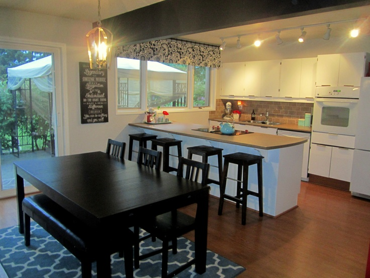 Best Kitchen And Dining Combo Images On Pinterest Kitchen