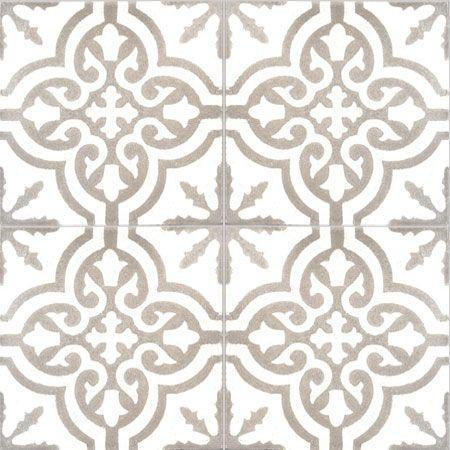 Collection StoneWash - décors 4 carreaux - Carreau TROUVILLE SW 10.27 - Couleurs & Matières