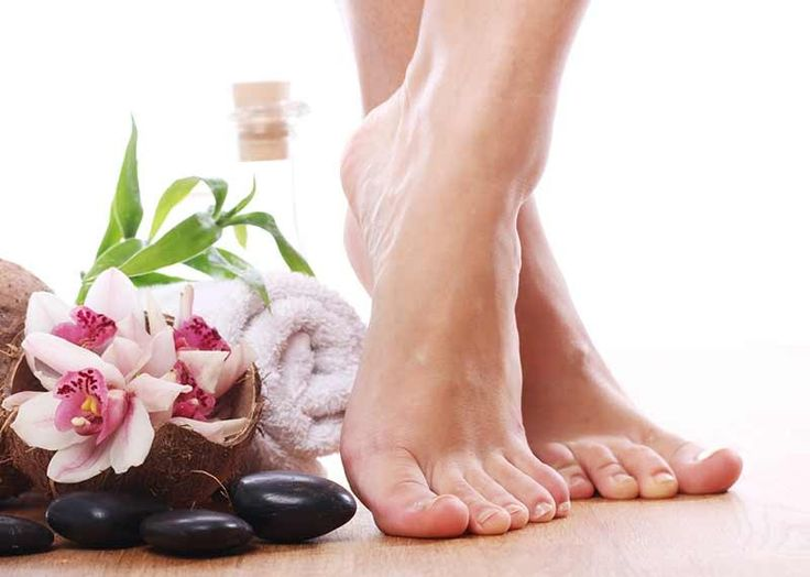 How can you get rid of sores between your toes?