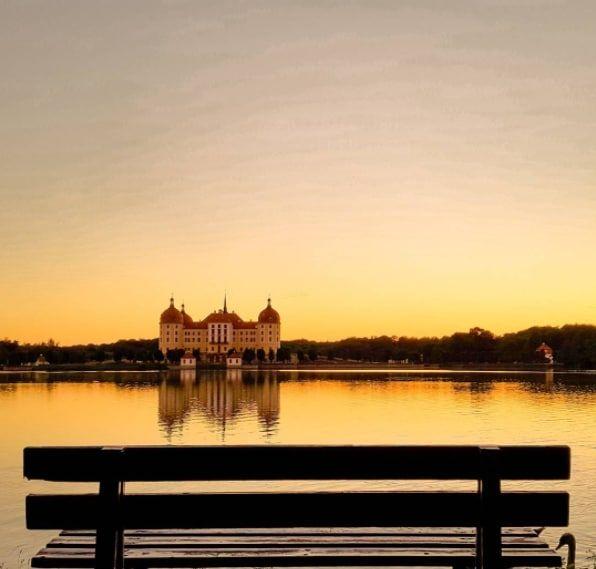 Schloss Moritzburg bei Dresden.