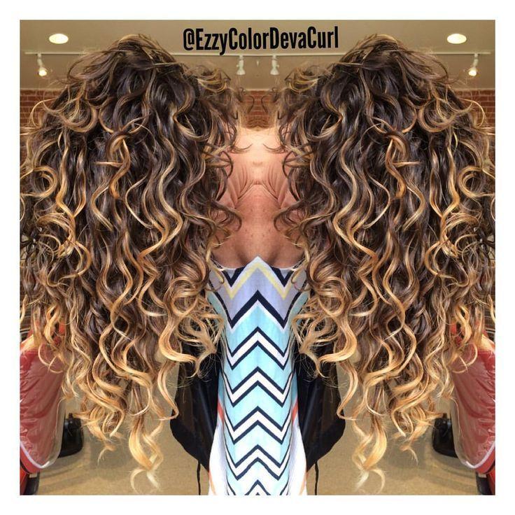 "Ezmeralda on Instagram: ""Waterfall Botticelli Perfected Curls by The Heavenly DevaCurl Products so Hydrated and Healthy  @mydevacurl #"