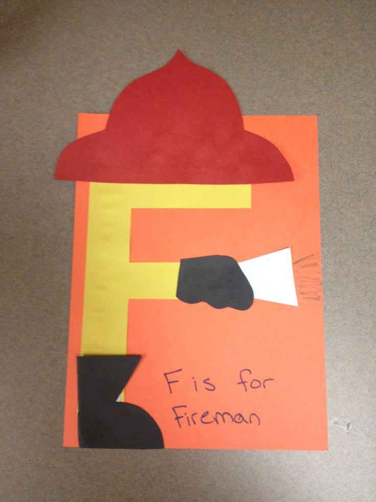 Image result for preschool firefighter activities