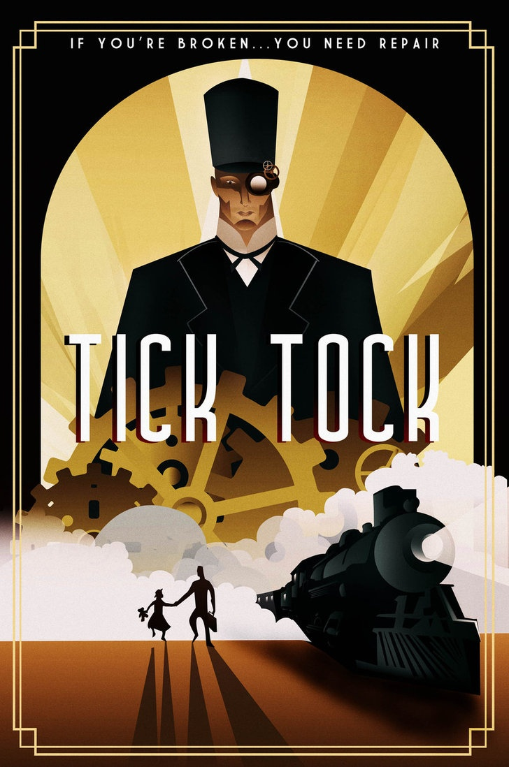 Modern art deco posters by rodolforever art deco posters pinterest poster art deco and - Affiche art deco ...