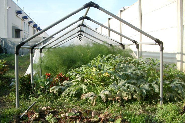 prodotti in pvc per agricoltura - serra aperta
