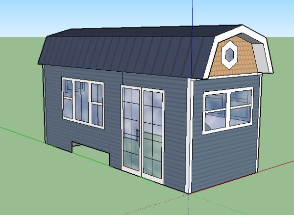Sketchup | Tiny house, House, Outdoor structures on Sketchup Backyard id=66838