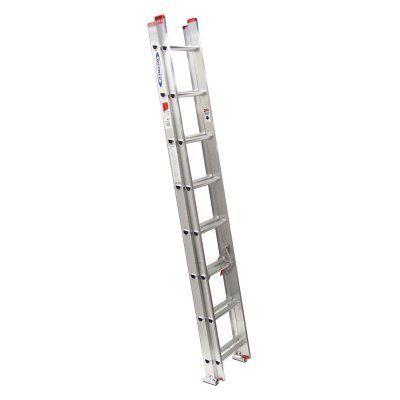 Werner D1116-2 16 ft. Aluminum Extension Ladder - 3721-5480