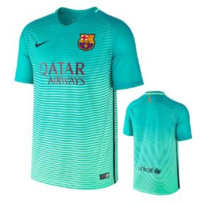 Nike Barcelona Soccer Jersey With Sponsor (Alternate 2016/17): http://www.soccerevolution.com/store/products/NIK_41062_A.php