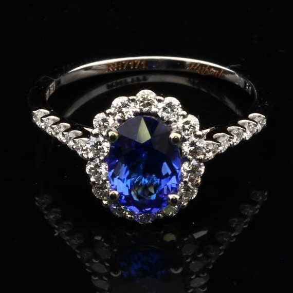 tanzanite engagement rings tiffany - 570×571
