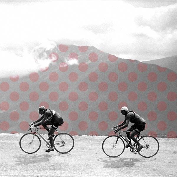 James Straffon PALETTE: Coppi Bartali, Tours De, Cycling Art, C1949 Prints, Art Prints, De France, Tandem Bicycles, Gino Bartali, Bicycles Bicycles