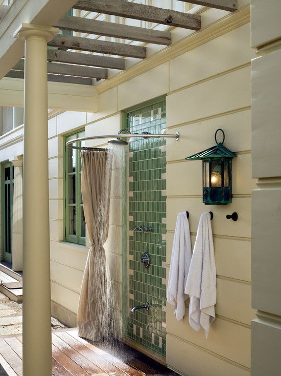 99 best Outdoor Showers images on Pinterest | Outdoor showers ...