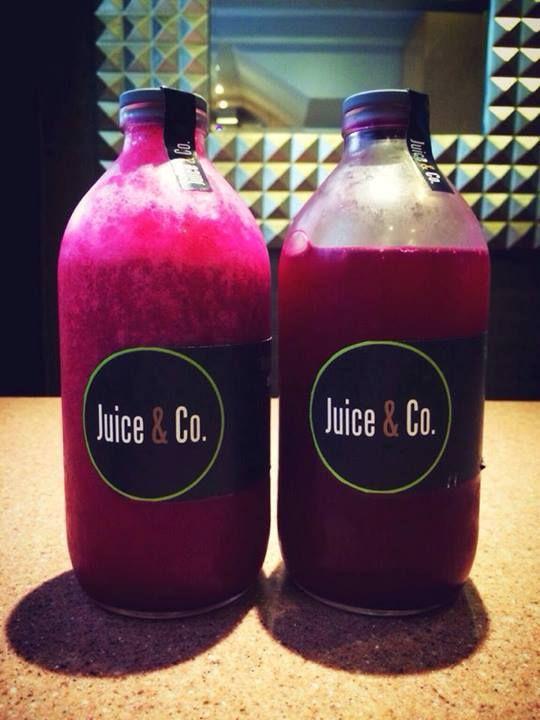 Pink Podium (pitaya flavor) and I Love You Juice (beetroot flavor). FAVORITES!