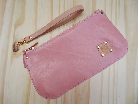 Hey, I found this really awesome Etsy listing at https://www.etsy.com/listing/228857604/pink-leather-clutch-bag-iphone-case-eye
