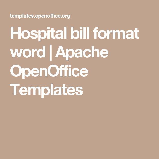 Pinterest - open office resume template