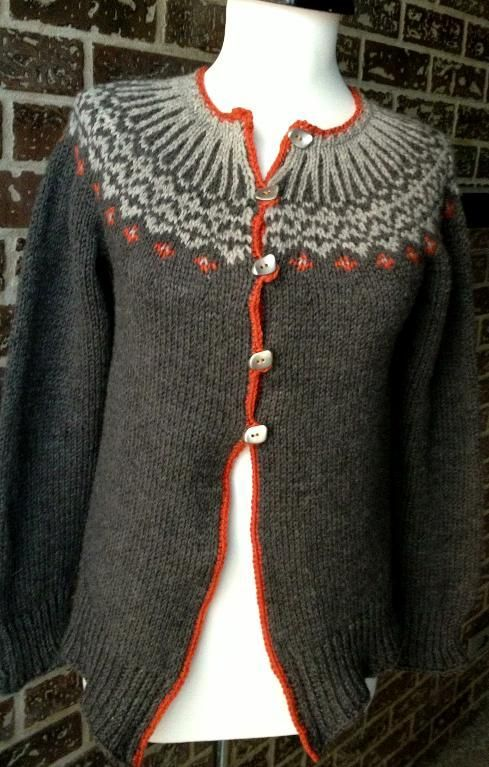 Top Down Icelandic Sweater