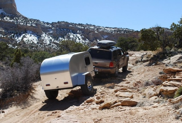 This mini-camper looks like great fun.
