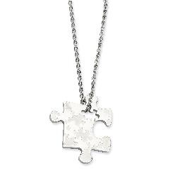 I'm going to gift my employees with puzzle piece pendants this year. (The logo of the company involves puzzles) Which ones to choose?