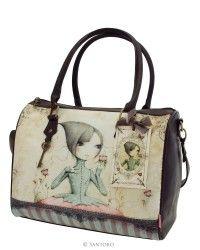 Handbag - If Only, Santoro's Mirabelle