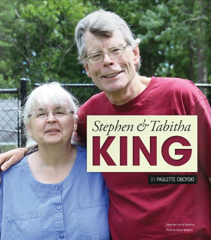 Here is an interview with Stephen and Tabitha that I had totally missed. It has a lot of great photos of them!