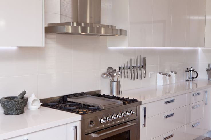 Give your kitchen a restaurant-quality touch with commercial-style gas oven and burners. www.onecallkitchens.com.au