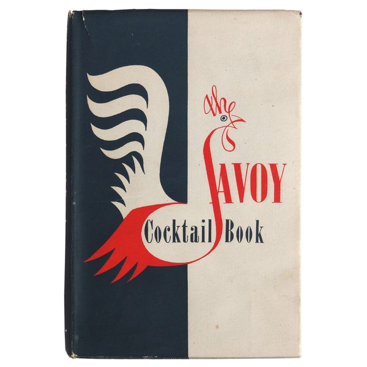 "Scarce ""The Savoy Cocktail Book"", England, 1952 