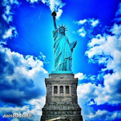 #Statue of Liberty in #NewYork! #Summer #day in #Manhattan #NYC