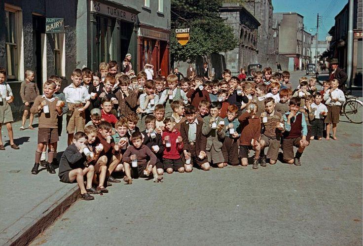 irish school kids many moons ago | Ireland New and Old ...