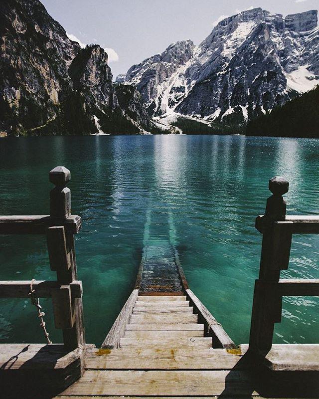 Lake Brais, Italy.