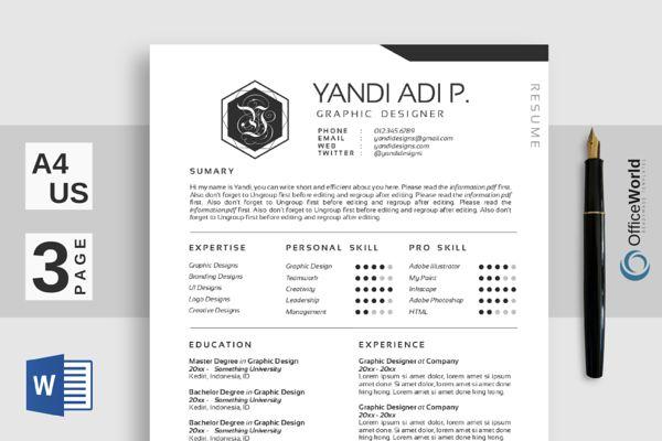 12 best CV images on Pinterest Resume design, Resume templates and