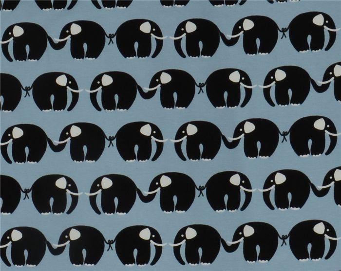 Ohlssons Tyger - - Barntrikå - Ekologisk Trikå - Elefanter