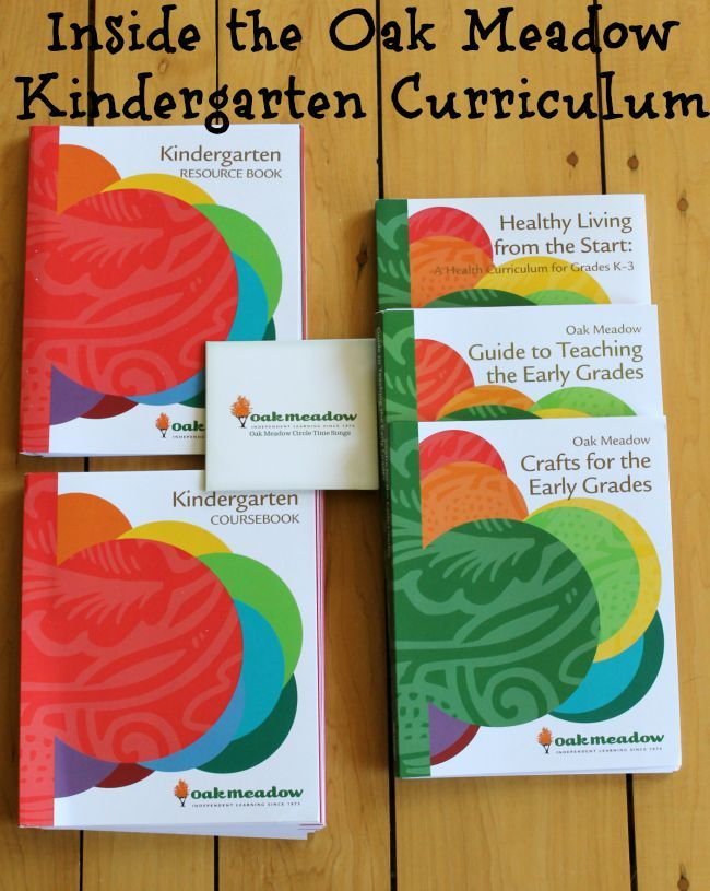Discover the curriculum we will be using with my kids! Oak Meadow Kindergarten curriculum review
