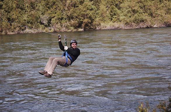 Canopy  en rivera del rio calcurrupe