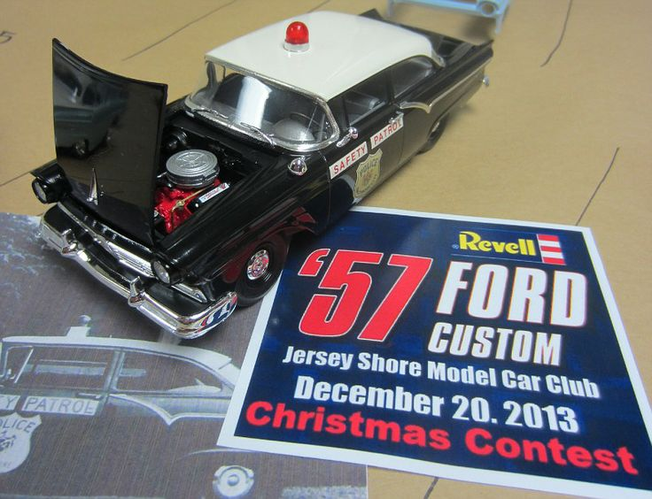 Revell 57 Ford Police Car. & 129 best police scale auto model cars images on Pinterest   Police ... markmcfarlin.com