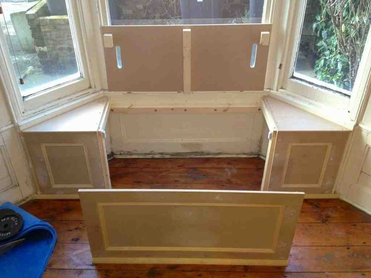 Window Bench Seat With Storage
