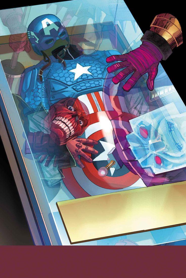 Red Skull & Captain America - ©Alex Ross