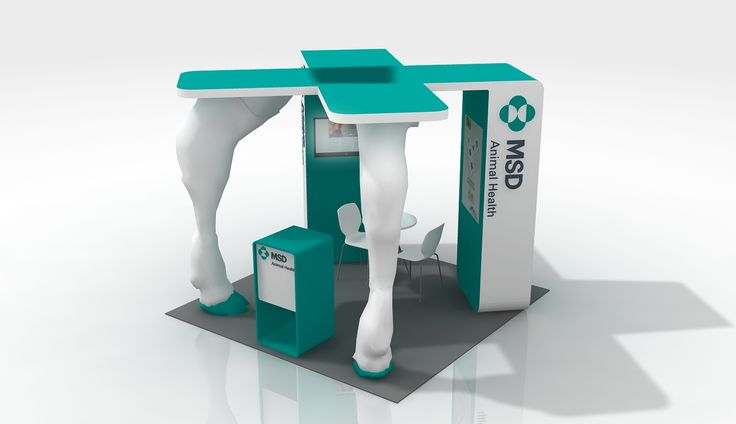 MSD Animal Health Stand 3D By Final Solution