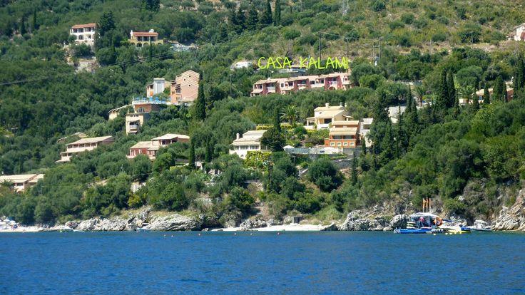 Casa Kalami from the sea :))
