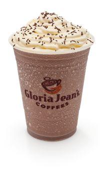 My favourite treat - Gloria Jean Iced Chocolate