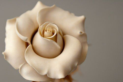 Wood carving rose