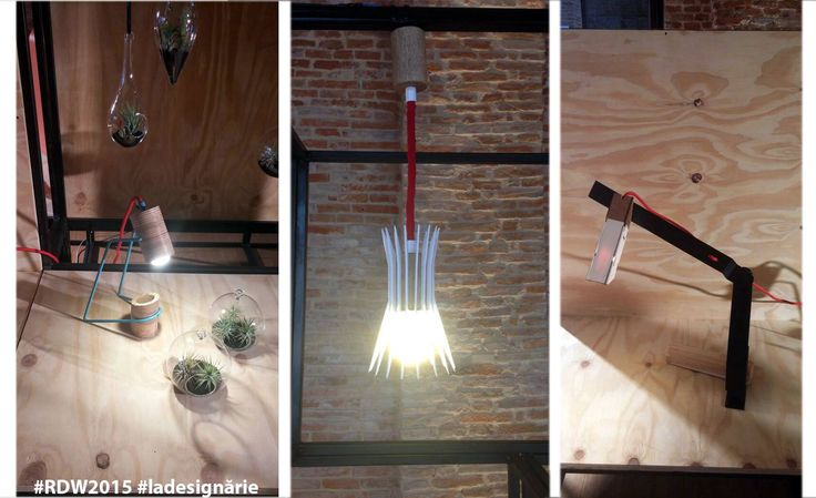La Designarie at Romanian Design Week 2015 - Bucharest  Thank you Vertigo Metal Design. Designers:  Andrei Ignat Alexandra Morosanu Emanuel Cinca